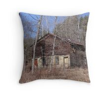 Off the Foundation Throw Pillow