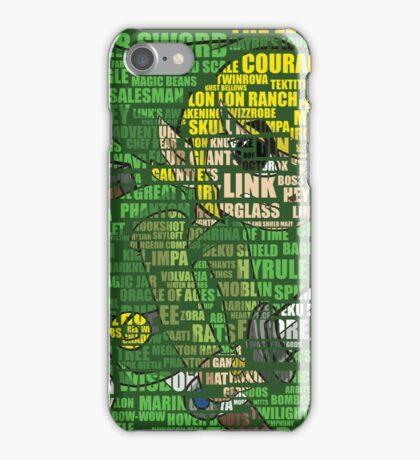 Zelda - Word Art iPhone Case/Skin