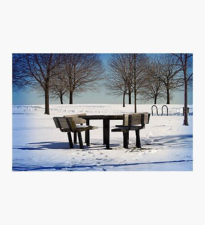 White Winter Photographic Print