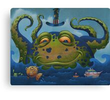 OctoPete Canvas Print