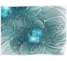 Lilly Pond Ripples Poster