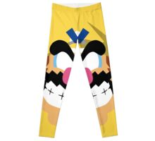 Wario Minimalistic Design Leggings