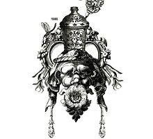 Queen Whabah (iphone case art) by Philomena Primrose