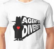 """AGENT OF DIVERSITY""  Unisex T-Shirt"