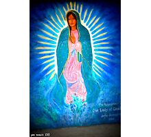 The Glowing Virgin Photographic Print