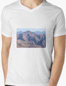 Scenic mountains Mens V-Neck T-Shirt