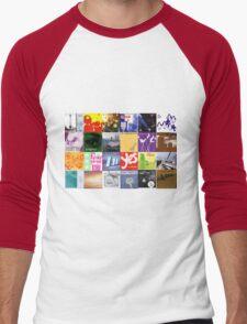 Sarah Records artwork Men's Baseball ¾ T-Shirt