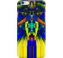 Blue and Yellow Abstract - phone and iPod skin iPhone Case/Skin