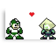 Megaman And Peridot Canvas Print