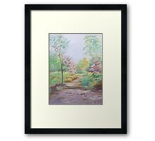 My favourite place Framed Print
