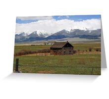 Wet Mountain Valley Greeting Card
