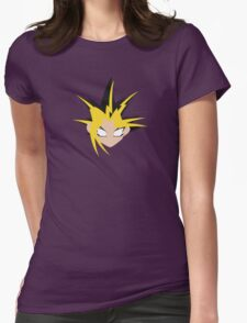 Yu-Gi-Oh! Minimalistic Design Womens Fitted T-Shirt