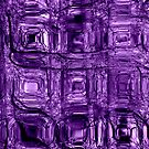 Purple circuitry - phone and iPod skin by Scott Mitchell