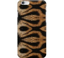 Tiger skin pattern 004 iPhone Case/Skin