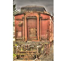Pullman Baggage Car Photographic Print