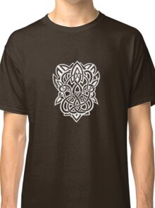 Bracer Knot A - Celtic Knotwork - White Classic T-Shirt