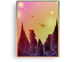 Star Dragons Canvas Print
