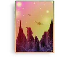 Star Dragons Canvas Print