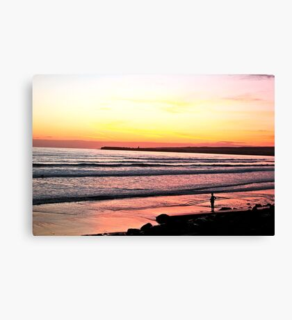 Irish Sunset  Canvas Print
