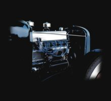 Chevy Rat Rod - Motor by blulime