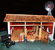 The Stable (A Miniature) by Nadya Johnson