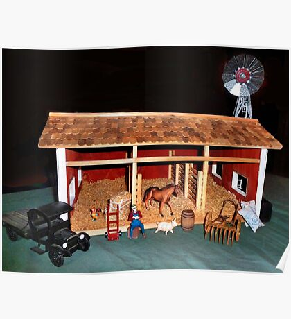 The Stable (A Miniature) Poster