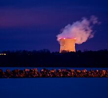 Arkansas Nuclear One Cooling Tower by DonCondley