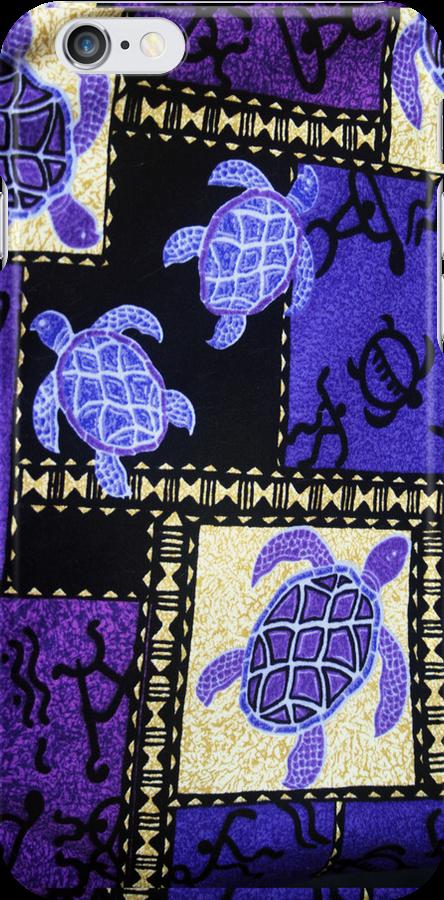 Hawaiian Turtles by Kezzarama
