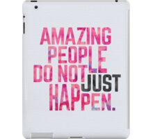 Amazing People iPad Case/Skin