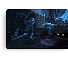 Something Under The Bed Canvas Print