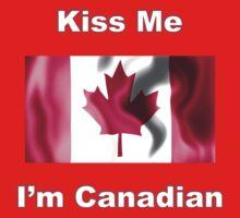 Kiss Me I'm Canadian One Piece - Long Sleeve