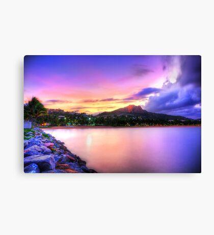Sunset Strand Canvas Print