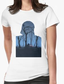 The Force Awakens Womens Fitted T-Shirt