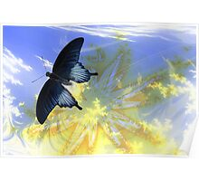 Fly Butterfly Fly Poster
