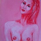 Nude Lady in Pink by Robyn Montrec