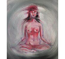 Nude Lotus Photographic Print