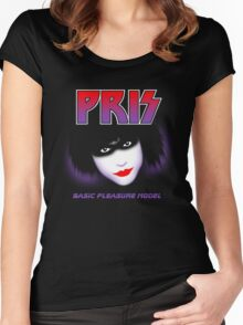 Pris - Basic Pleasure Model Women's Fitted Scoop T-Shirt