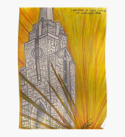 Saint Joseph Cathedral Poster