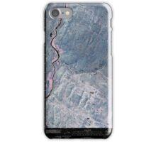 USGS Topo Map Washington State WA Keystone 20110503 TM Inverted iPhone Case/Skin