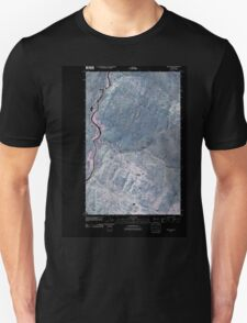 USGS Topo Map Washington State WA Keystone 20110503 TM Inverted Unisex T-Shirt