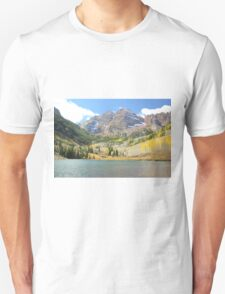The Maroon Bells Unisex T-Shirt