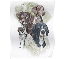German Short-Haired Pointer /Ghost Poster