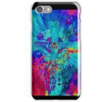 CELTIC CROSS Red/blue PHONE CASE iPhone Case/Skin