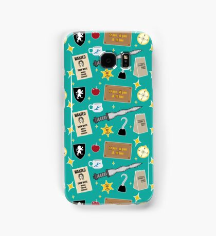 Once Upon A Time | Turquoise Samsung Galaxy Case/Skin