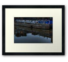 Barge, Gloucester Docks, Gloucester Framed Print