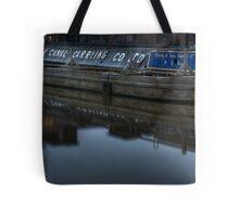 Barge, Gloucester Docks, Gloucester Tote Bag
