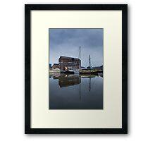 6am Gloucester Docks, Gloucester Framed Print