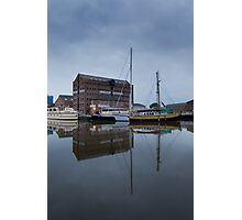 6am Gloucester Docks, Gloucester Photographic Print