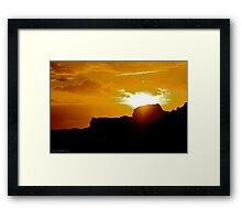 Sunrise, Winkipop Malny  Framed Print