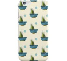 Earth, geometric print iPhone Case/Skin